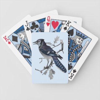 Blue Jay Vintage Cut Out Bicycle Playing Cards
