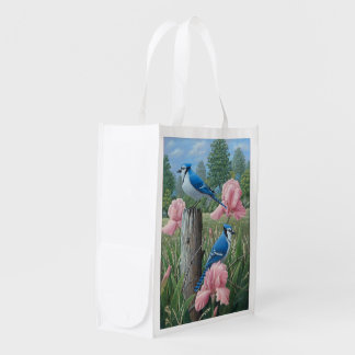 Blue Jays Reusable Grocery Bag