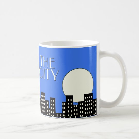 Blue Jazz and the City Coffee Mug