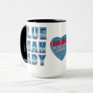 Blue Jean Baby Mug