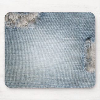 Blue Jean Design Mousepad