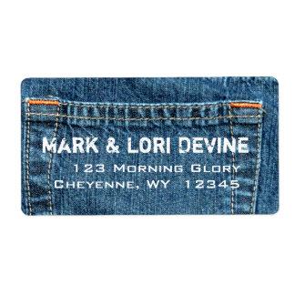 Blue jean designer labels