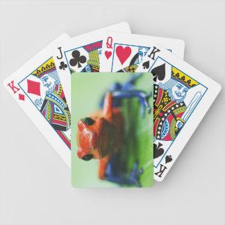 Blue Jean Frog Poker Deck