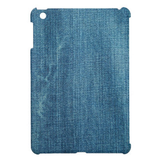 Blue jeans background cover for the iPad mini