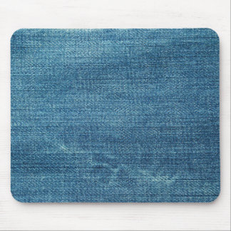 Blue jeans background mouse mat