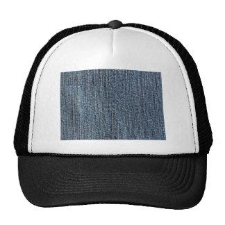 Blue jeans denim textile trucker hat