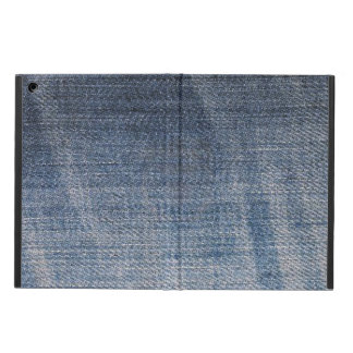 blue jeans distressed texture iPad air case
