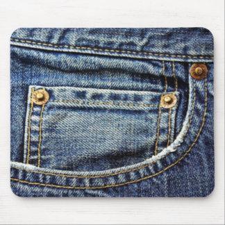 Blue Jeans Pocket Mouse Mat