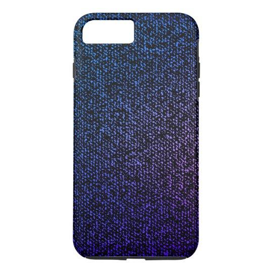 Blue Jeans Texture (purple) iPhone 8 Plus/7 Plus Case