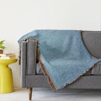 Blue jeans texture. Rough textile