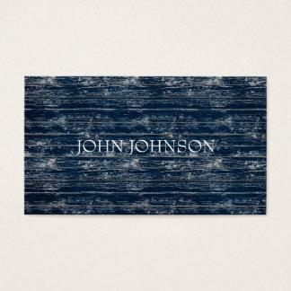 Blue Jeans Wood Minimalism Stylist  Vip Business Card