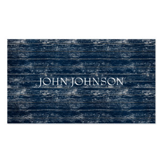 Blue Jeans Wood Minimalism Stylist  Vip Pack Of Standard Business Cards