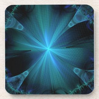 Blue Jellyfish Coaster