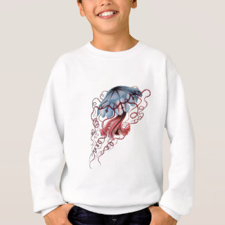Blue jellyfish sweatshirt