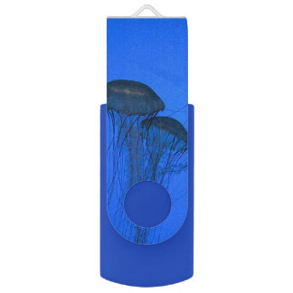 Blue Jellyfish USB Flash Drive