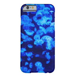 Blue Jellyfishes Barely There iPhone 6 Case