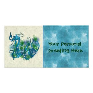 Blue Jewelled Dragon Photo Cards