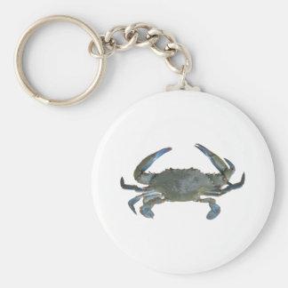 """Blue """"Jimmy"""" Crab Key Ring"""