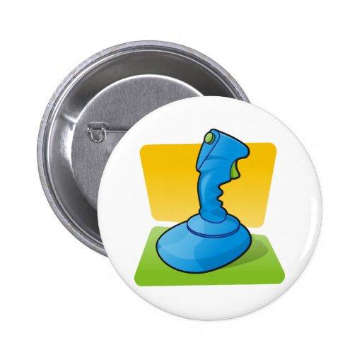 Blue Joystick Pin