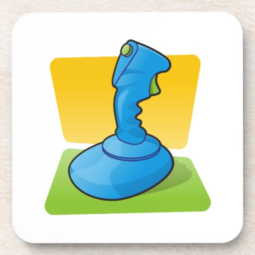Blue Joystick Coaster