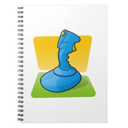 Blue Joystick Notebook