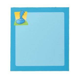 Blue Joystick Memo Pads