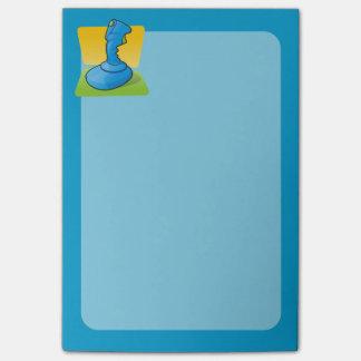 Blue Joystick Post-it® Notes