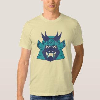 Blue Kabuto Samurai Shirt