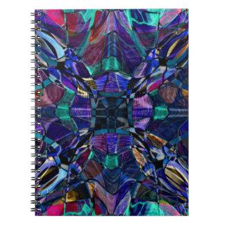 Blue Kaleidoscope Fractal Notebook