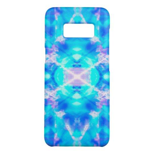Blue kaleidoscope pattern Case-Mate samsung galaxy s8 case