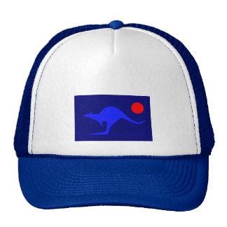 Blue Kangaroo Hat