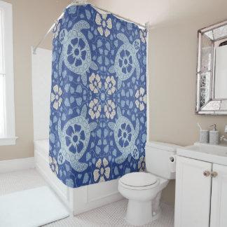 Blue Kauai Turtles Shower Curtain