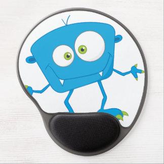 Blue Kids Monster Alien Gel Mouse Mats