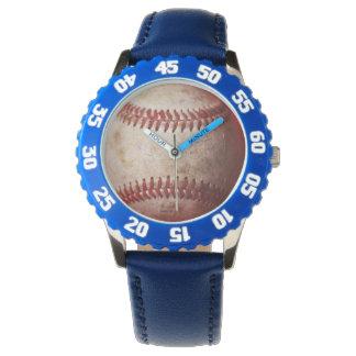 Blue Kid's Watch   Baseball Children's Watch