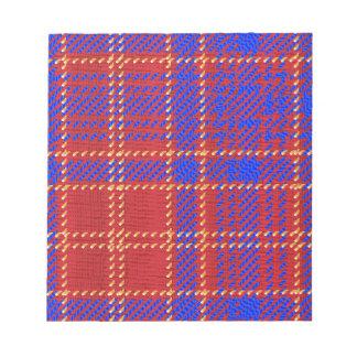 Blue Kilt Tartan Notepad