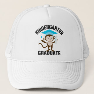 Blue Kindergarten Graduate Trucker Hat