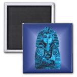 Blue King Tut #2 Fridge Magnets