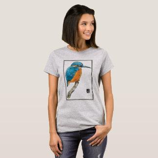 Blue Kingfisher Bird T-Shirt