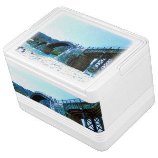 Blue Kintaikyo photo cooler box Part 1 Igloo Cooler