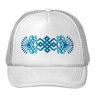 Blue Kirttmukha Hat