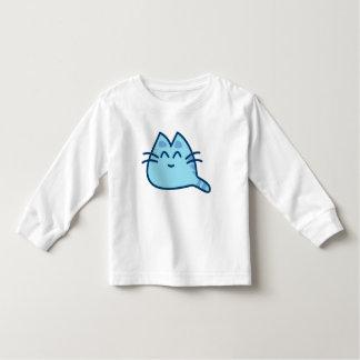 Blue kitten sweater