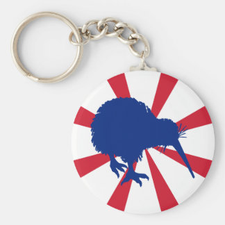 Blue Kiwi Key Ring