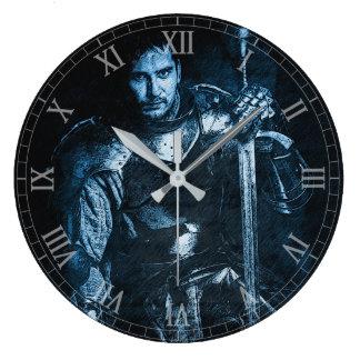 'Blue Knight' Wall Clock