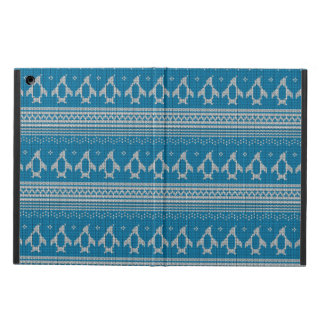 Blue Knitted Background Case For iPad Air