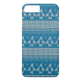 Blue Knitted Background iPhone 8 Plus/7 Plus Case