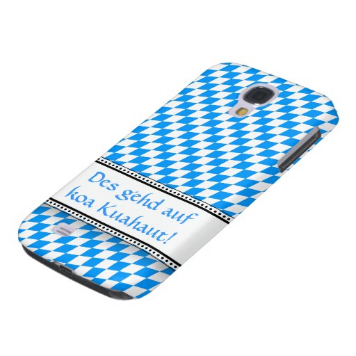 Blue knows with saying samsung galaxy s4 cover