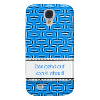 Blue knows with saying galaxy s4 case