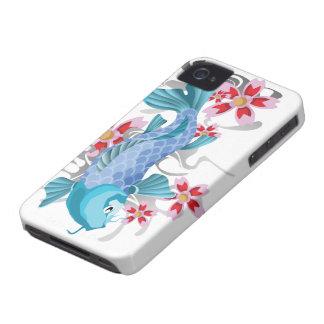 Blue Koi Fish Case-Mate iPhone 4 Case