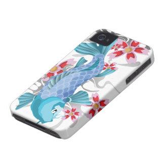 Blue Koi Fish iPhone 4 Case