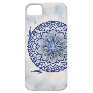 Blue Koi Lotus Mandala Casemate Phone Case